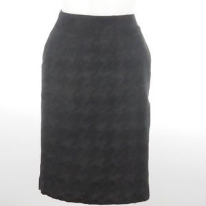 Merona - Black Pencil Skirt - Size 2